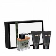 Dsquared² Dsquared2 He Wood Intense Eau De Toilette Spray + Gel Doccia + Latte Corpo 30ML