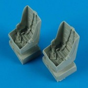 Quickboost 1:48 T-28 Trojan Seats w Safety Belt for Roden Kit- Resin #QB48-482