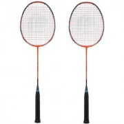 Emm Emm Pack of 2 Pcs Finest Rackets/Racquets With Full Security Cover (Package 2 Pcs)