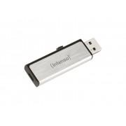 Intenso USB-minne Mobil/Tablet USB 2.0, Micro USB 2.0 Intenso Mobile Line Silver 8 GB