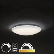 QAZQA LED plafondlamp 47cm stereffect met afstandsbediening - Extrema