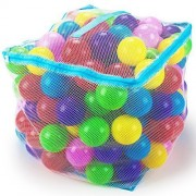 200 Jumbo 3 In Multi Colored Soft Ball Pit Balls With Mesh Carrying Case By Imagination Generation By Imagination Generation