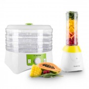 Paradise City mixer smoothie maker 300W flaska BPA-fri 2x bägare