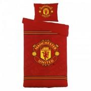 Dekbedovertrek Manchester United Logo 140x200