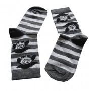 Pirate Owl Sock: 35-38