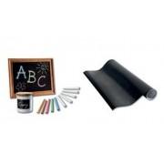 folia Tafelfolie, aus PVC - 450 mm x 2 m papier czarny oryginał 390090