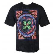 t-shirt metal uomo Kiss - BLACKLIGHT - LIQUID BLUE - 11903