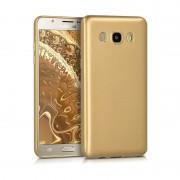 Husa Slim Silicon Samsung J5 2016 - Gold