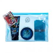 Marvel Avengers 75Ml Shower Gel 75 Ml + Hair Gel 75 Ml + Cloth + Cosmetic Bag Per Donna (Shower Gel)