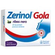 Sanofi Spa Zerinol Gola Ribes 20 Mg Pastiglie 18 Pastiglie In Blister Alu/Alu