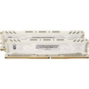 Kit Memorie Crucial Ballistix Sport LT White 2x4GB DDR4 2400MHz CL16 Dual Channel