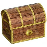 Pirate Treasure Chests (4/Pkg)