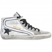Golden Goose Scarpe sneakers alte uomo in pelle slide