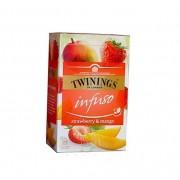 Twinings Infuso Strawberry & Mango ceai capsuni si mango