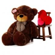 Original 6 Feet Brown Bow Teddy Bear Soft Toy 180 cm