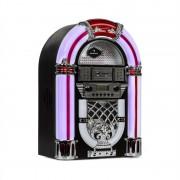 Auna Arizona, jukebox, BT, FM радио, USB, SD, MP3, CD плейър, черен (BX-Arizona)