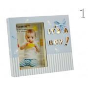 LEDes fényképtartó babás 10x15cm-es képhez B2246 2féle - Fényképtartó