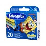 Salvequick SvampBob Plåster 20 st Plåster