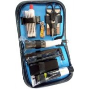 DIY Crafts Moring Glory Shaving Kit Travel Shaving Kit(Blue, Black)