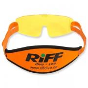 Riff Gelbfilter für Tauchmasken - mit Band