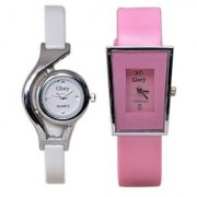 super combo High Quality Style Glory Combo of 2 Analog Casual Wear Wrist Watches For Women / Girl