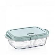 Кутия за храна Push-up с отварящо капаче за микровълнова фурна