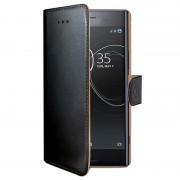 Capa tipo Carteira Celly Wally para Sony Xperia XZ Premium - Preto