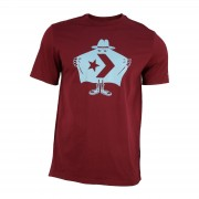 Tricou barbati Converse Dark Burgundy Burglar T-shirt 10007208-613