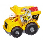 Mega Bloks Caterpillar First Builders Cat Lil Dump Truck