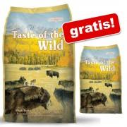 13 kg + 2 kg gratis! 15 kg Taste of the Wild Hrană pentru câini - High Prairie Canine