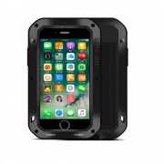 Black Apple iPhone 5 / 5S / SE Water Resistant Shockproof Metal Case