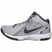 Nike Men White & Grey The Air Overplay IX Basketball Shoes (7 UK/India)