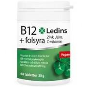 Ledins B12+Folsyra 60 tabletter