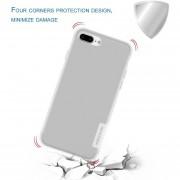 EH NILLKIN TPU Funda Para El IPhone 7 Plus Naturaleza Transparente Transparente Soft Cover - Blanco