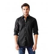 GUESS Cowan Slim-Fit Shirt jet black