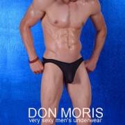 Don Moris Sheer Bikini Underwear Black DM080885