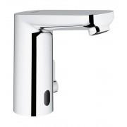 Grohe Eurosmart CE - Mitigeur électronique lavabo alimentation par piles avec contrôle de la température sans garniture de vidage chrome