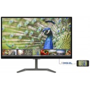 "Monitor IPS LED Philips 23.6"" 246E7QDAB/00, Full HD (1902 x 1080), VGA, DVI, HDMI, 5 ms, Boxe (Negru)"