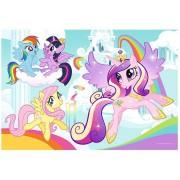 Puzzle de colorat Trefl - Color Puzzle - My Little Pony, 20 piese (55034)