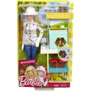 Mattel Barbie. Playset Apicoltrice con Bambola. Casetta per le Api e Tan...
