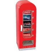 Retro chladnička ve stylu prodejního automatu 18L / 10 plechovek