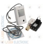 Mini Telecamera IP Wireless Wifi Nascosta PIR Allarme IR Led 940nm PoE