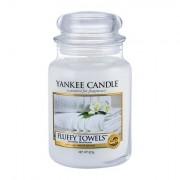 Yankee Candle Fluffy Towels vonná svíčka 623 g