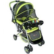 Pollyspet Reversable Baby Stroller (PP2051 Green)