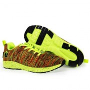 Gorilla Wear Brooklyn Knitted Sneakers, neon mix