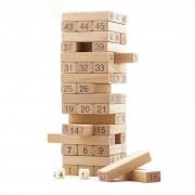 Joc de societate Turnul instabil- 54 pcs Blocks