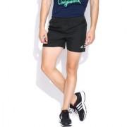 Adidas Black Polyester Running Shorts