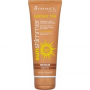 Rimmel Sunshimmer Instant Tan Medium Matte 125 ml Self Tanning Gel