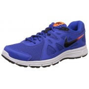 Nike Men's Revolution Lyon Blue, Black, Total Orange and White Running Shoes -11 UK/India (46 EU)(12 US)