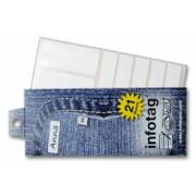 Infotag labels, set van 21 stuks